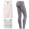 FREDDY WR.UP SPORT PANT + TOP + TANK - Pink/Grey - LIVIFY  - 1