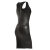 FREDDY WR.UP ECO LEATHER DRESS - Black - LIVIFY  - 1