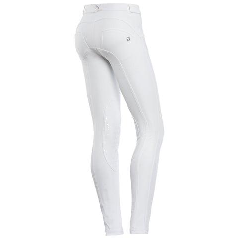 FREDDY WR.UP D.I.W.O PRO RIDING PANT - White - LIVIFY  - 1