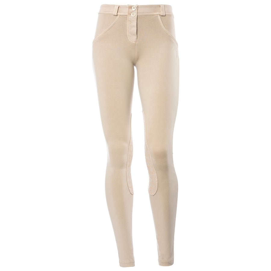 FREDDY WR.UP RIDING PANT - Beige - LIVIFY  - 1