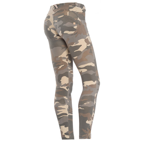 Freddy WR.UP® Camo Zip Ankle Length - Light Camo