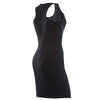 FREDDY WR.UP SHAPING EFFECT DRESS - Black - LIVIFY  - 1