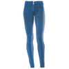 FREDDY WRUP CRACKLE PANTS - Blue - LIVIFY  - 5