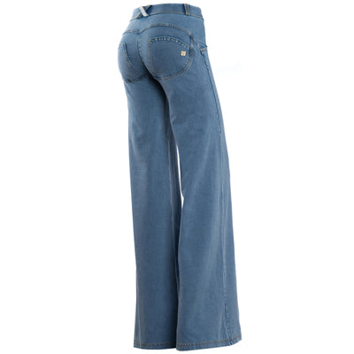 Freddy WR.UP Wide Flare - Medium Rinse - LIVIFY  - 1