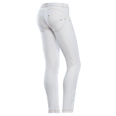 Freddy WR.UP Ripped Front Skinny - White - LIVIFY  - 1