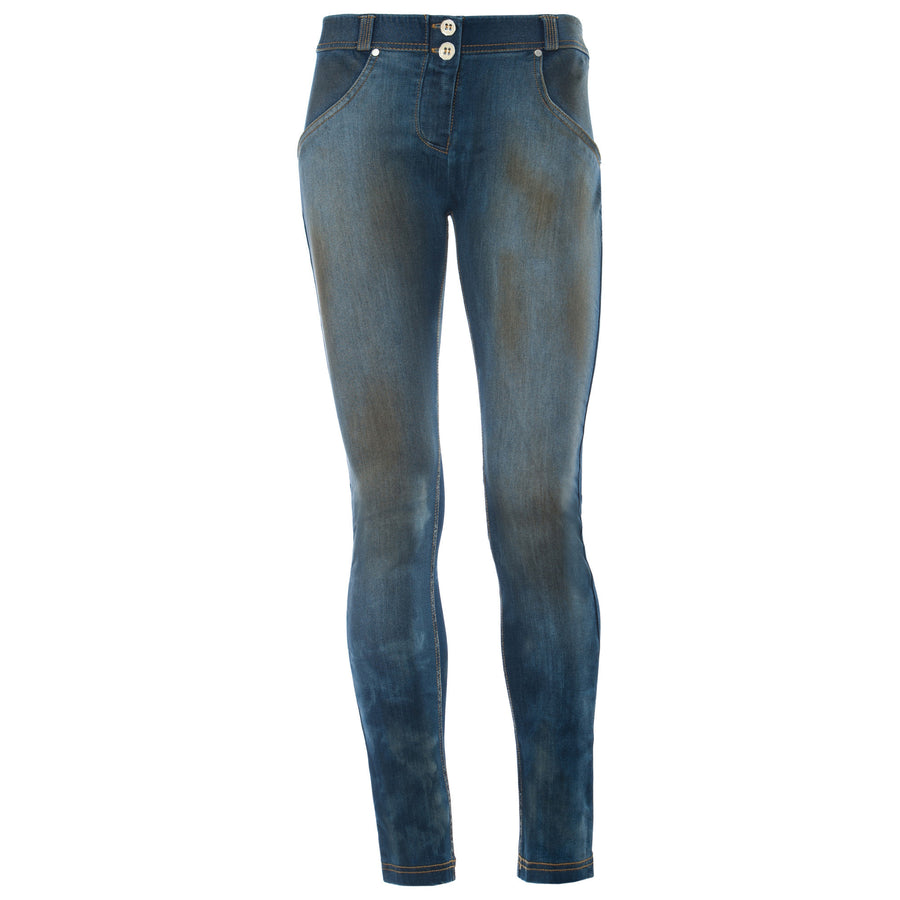 Freddy WR.UP® Dirty Denim Low Rise Skinny - Dark Rinse