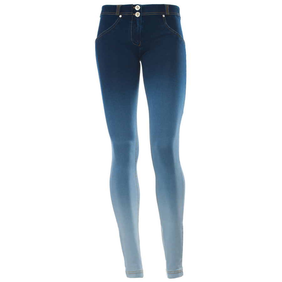 Freddy WR.UP® Gradient Denim Low Rise Skinny - Blue