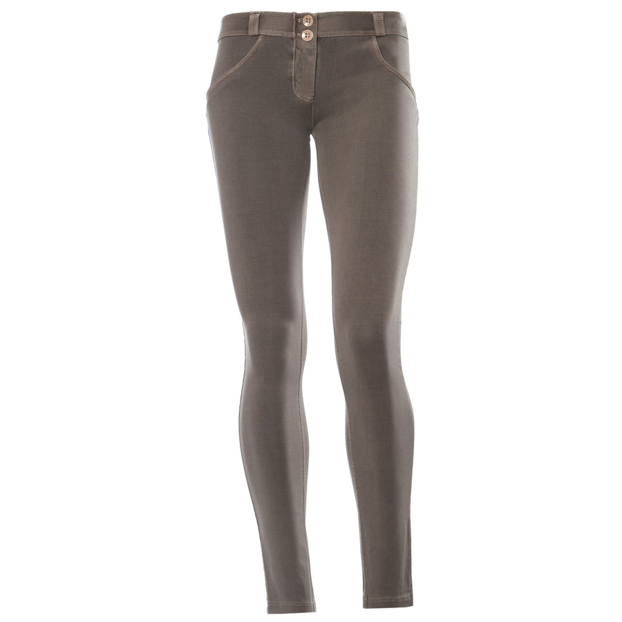 Freddy WR.UP® Garment Wash Low Rise Skinny - Taupe