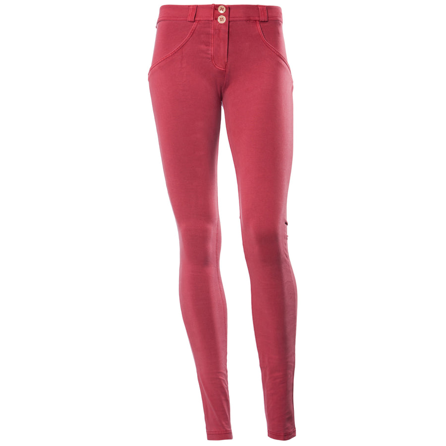 Freddy WR.UP® Garment Wash Low Rise Skinny - Red