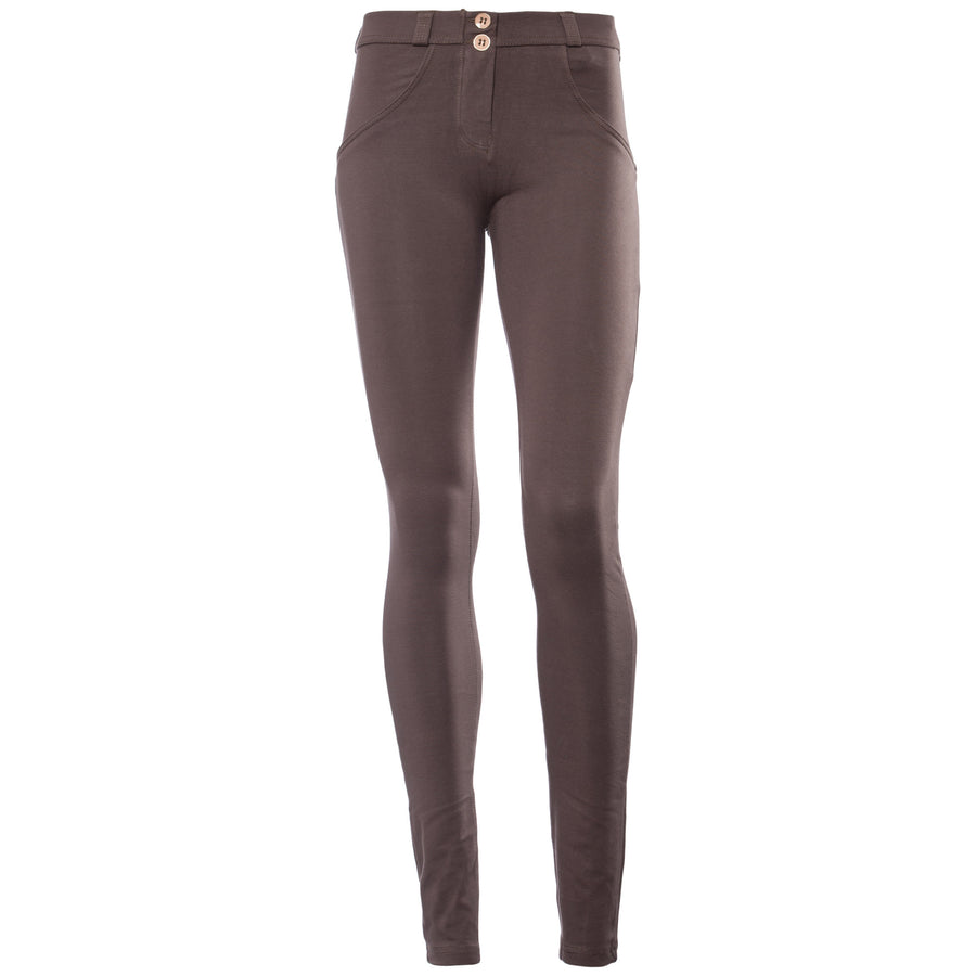 FREDDY WR.UP REGULAR RISE SKINNY - Dark Mocha - LIVIFY  - 1
