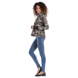FREDDY D.I.W.O CURVE BREATHABLE SWEATSHIRT - Dark Camo - LIVIFY  - 4
