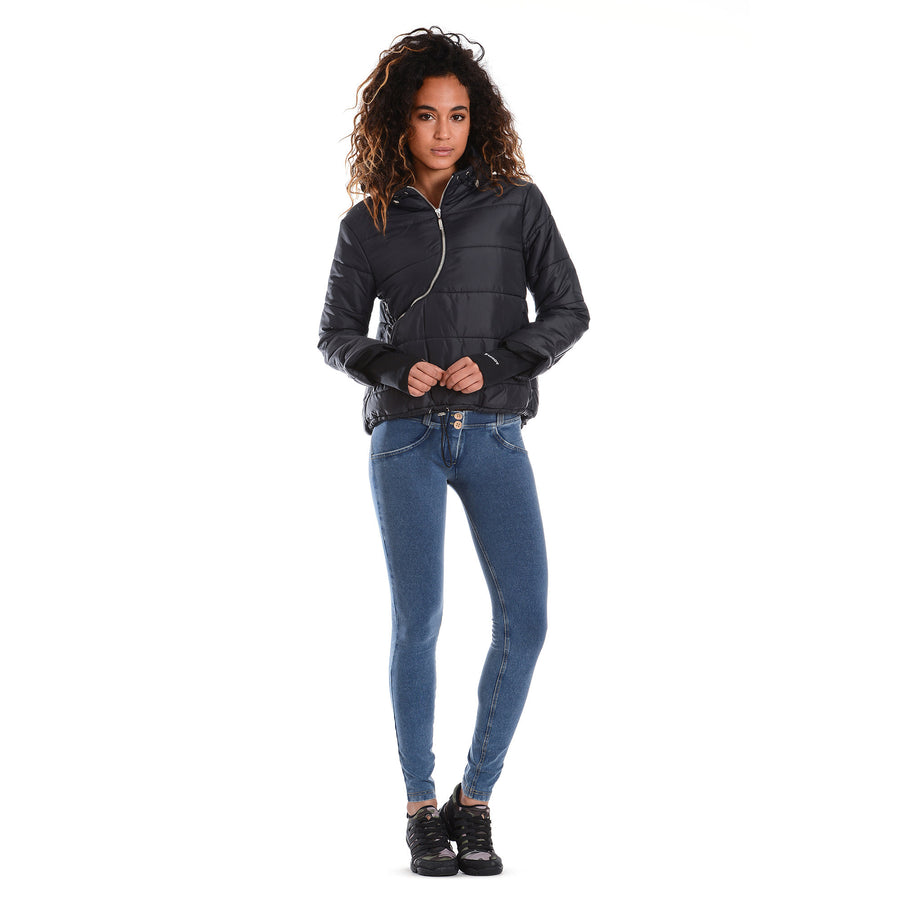 FREDDY ZIP SWEATSHIRT - Black - LIVIFY  - 1