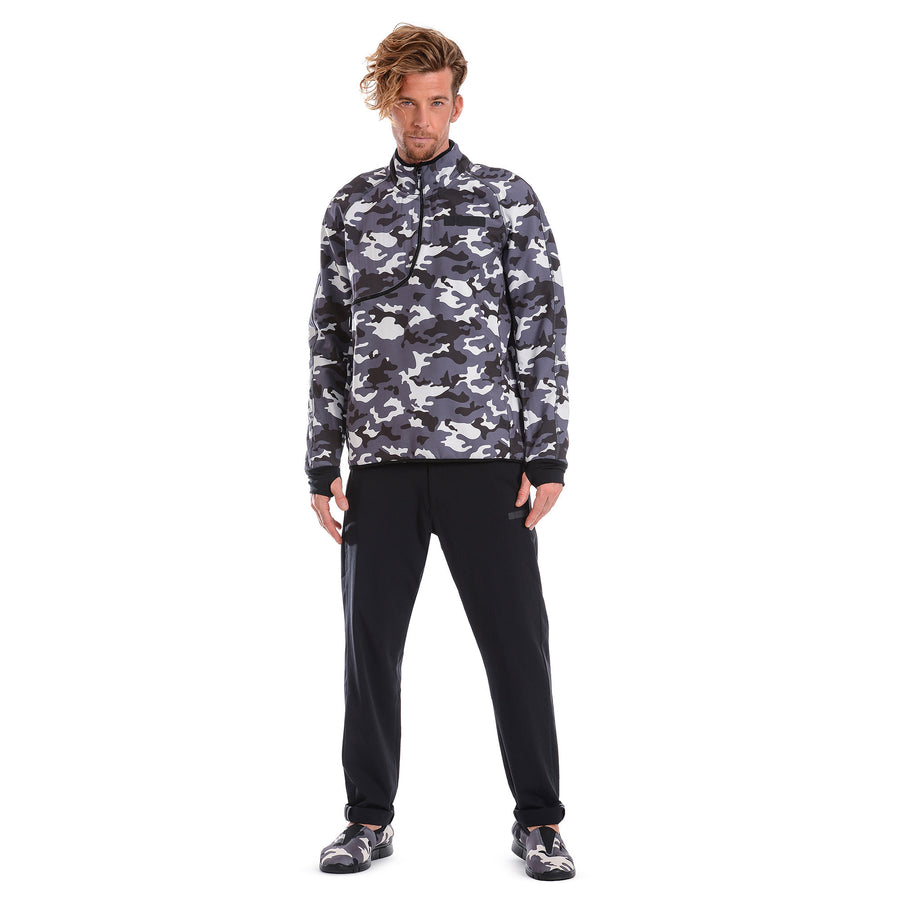 Freddy Mens D.I.W.O.® Breathable Sweatshirt - Light Camo