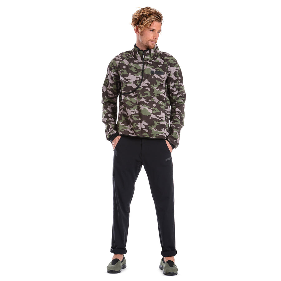 Freddy Mens D.I.W.O.® Breathable Sweatshirt - Dark Camo