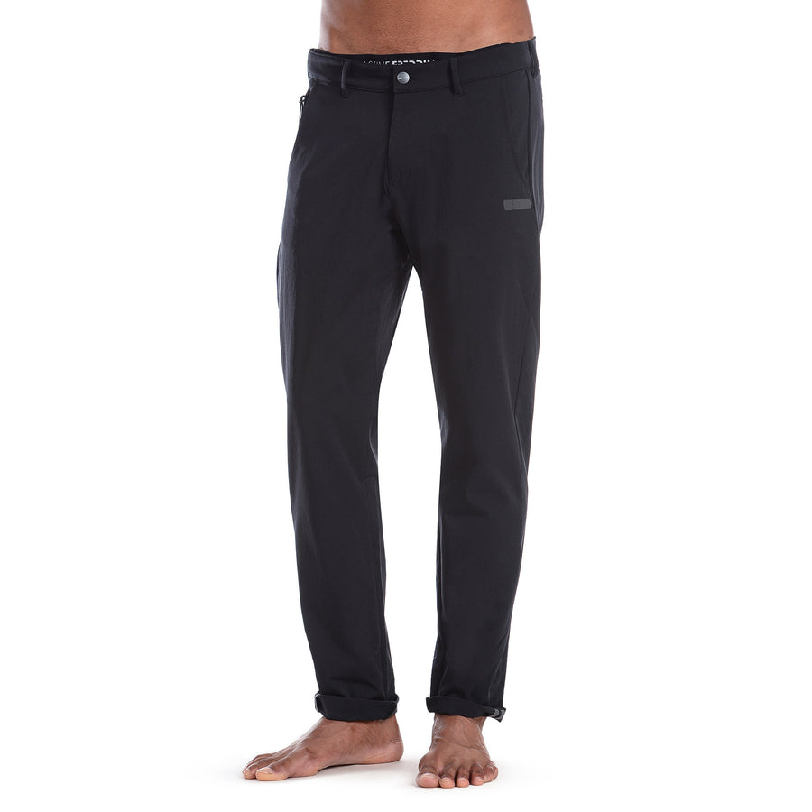 FREDDY PRO Fit Chino Pants 24/7 - Black - LIVIFY  - 1