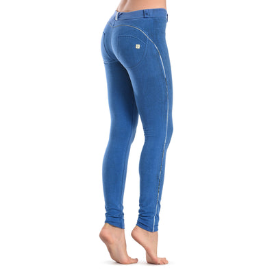 FREDDY WRUP CRACKLE PANTS - Blue - LIVIFY  - 4