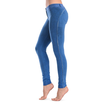 FREDDY WRUP CRACKLE PANTS - Blue - LIVIFY  - 3