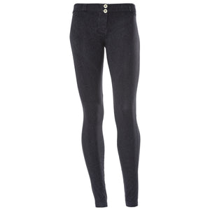 FREDDY WRUP CRACKLE PANTS - Black - LIVIFY  - 2