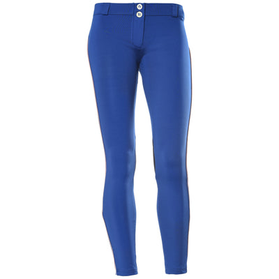 Freddy WR.UP Zip Contrast Ankle Piping Pant Skinny- Blue - LIVIFY  - 2