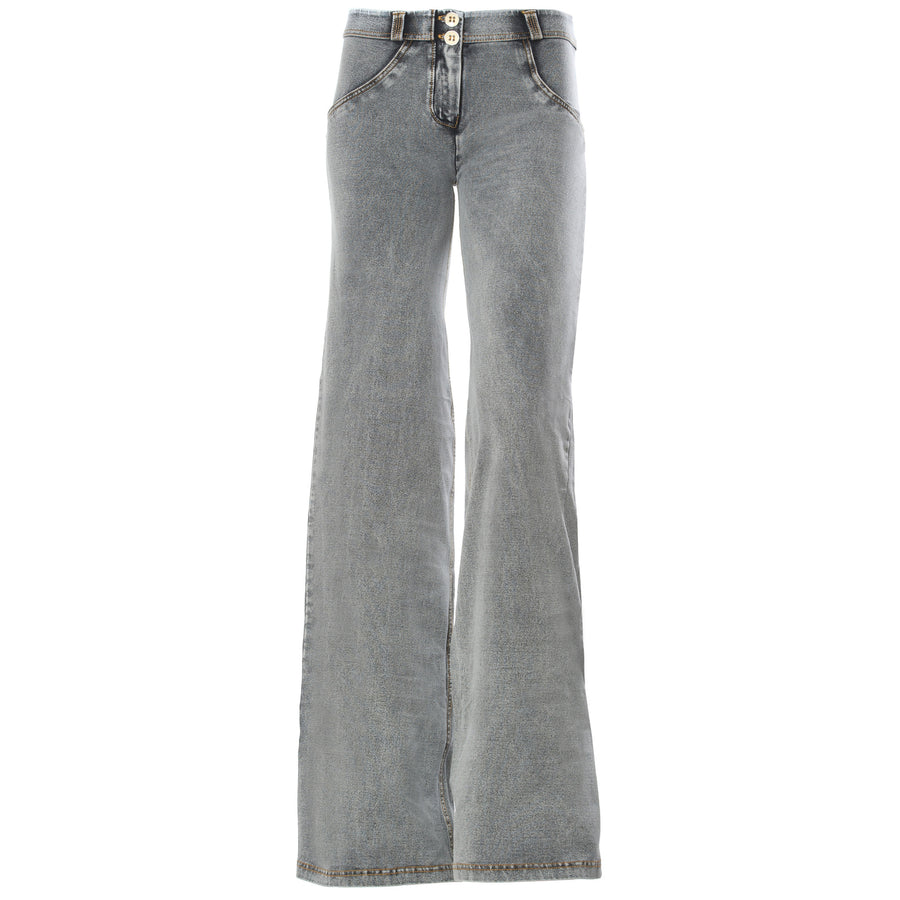 Freddy WR.UP Wide Flare - Grey Rinse - LIVIFY  - 1