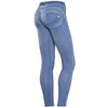 FREDDY WR.UP REGULAR RISE GARMENT WASH - Blue - LIVIFY  - 1
