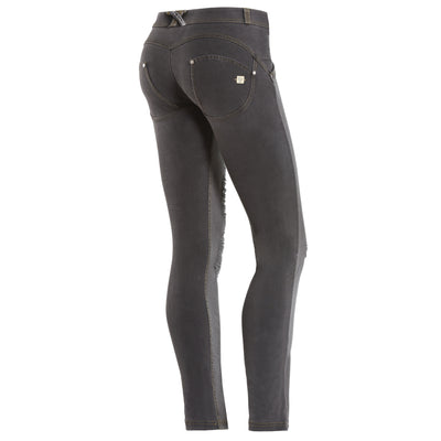 Freddy WR.UP Ripped Front Skinny - Black - LIVIFY  - 1