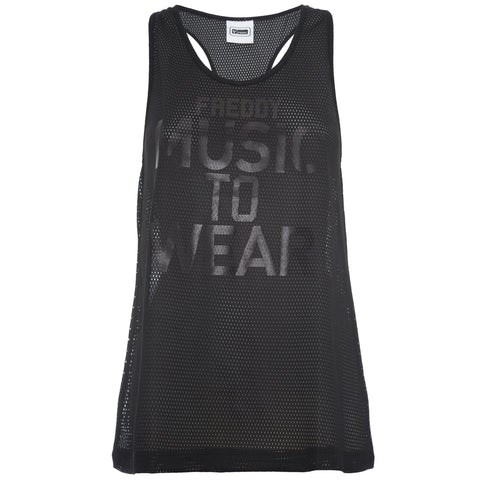 Freddy Tank Top - Black