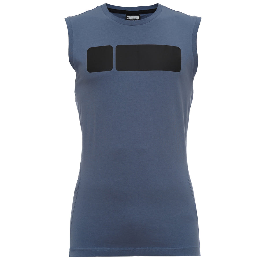 Freddy Mens Muscle T-Shirt - Powder Blue