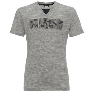 Mens Jersey T-Shirt - Printed Graphic - Heather