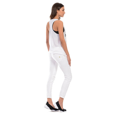 Freddy WR.UP® Twill Front Skinny - White