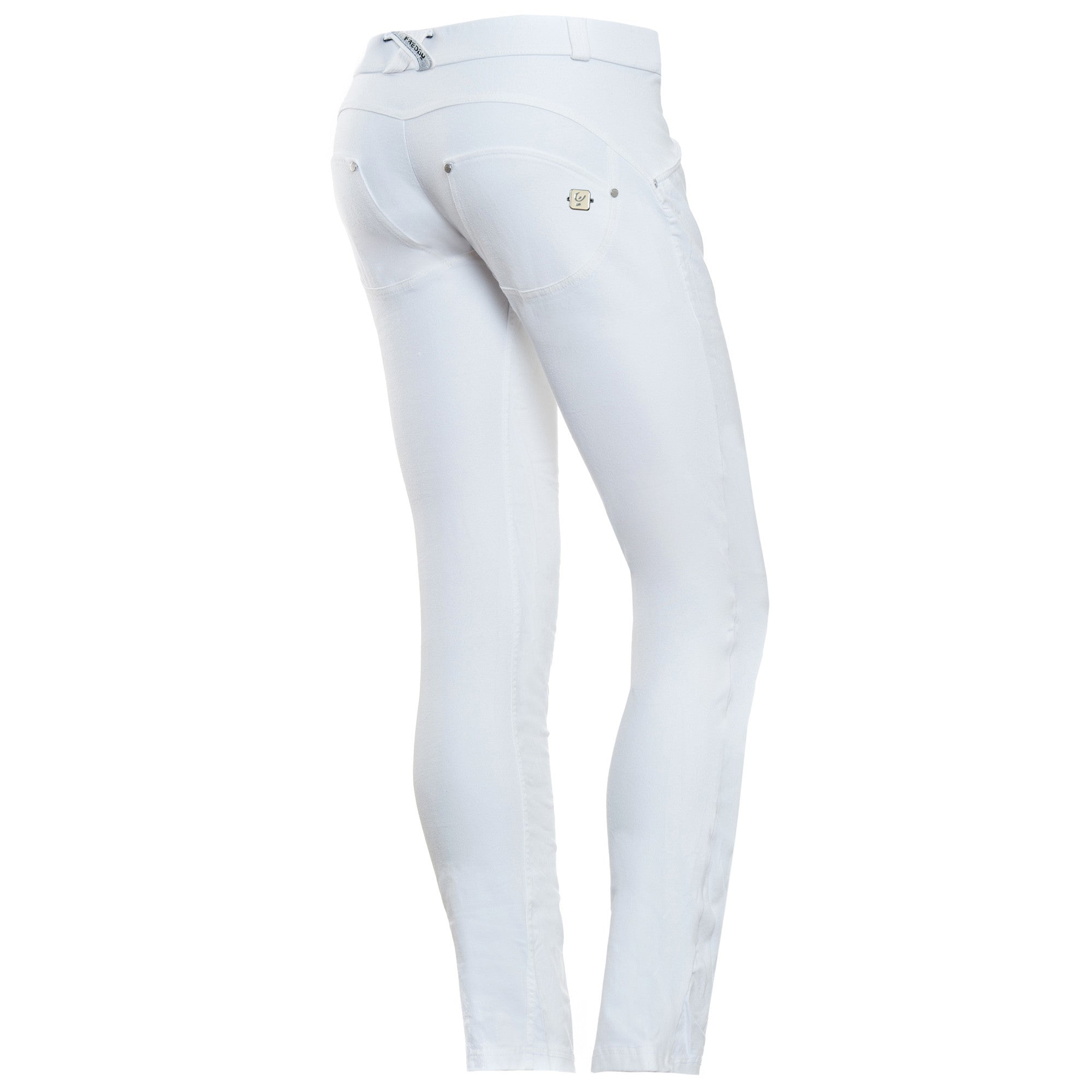WR.UP® Fashion - Classic Rise Full Length Twill - White