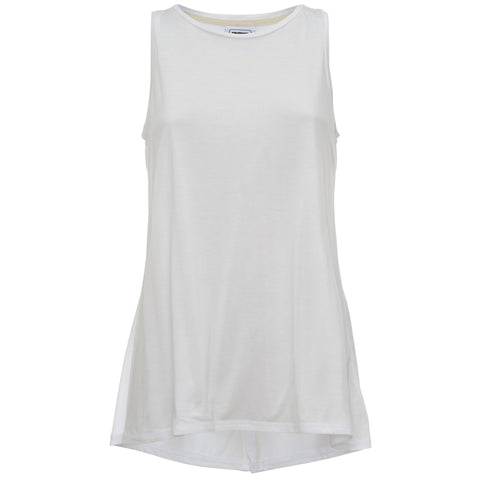 Freddy Open-Back Tank - White