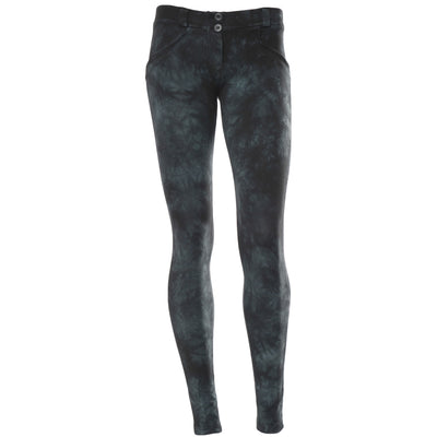 Freddy WR.UP® Tie Dye Skinny - Black