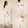 FREDDY WR.UP SNOW STIRRUP D.I.W.O.  PANT - WHITE - LIVIFY  - 3