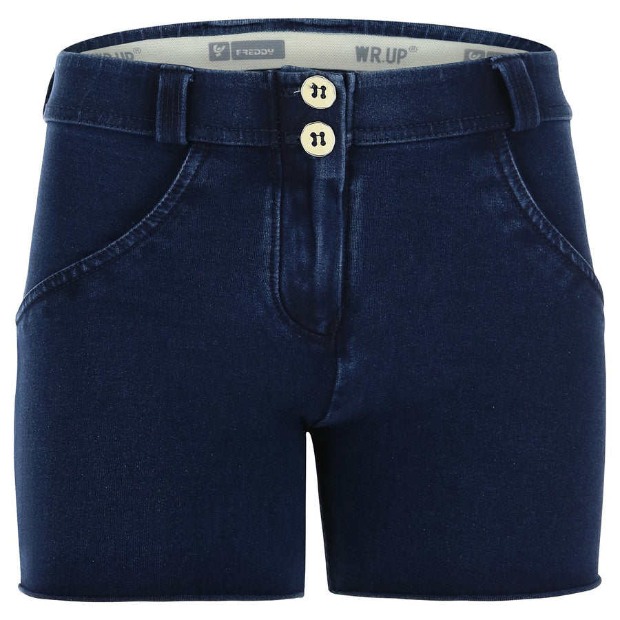 Freddy WR.UP® Denim Regular Rise Shorts - Dark Rinse