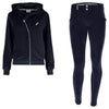 Freddy Velvet Zip Hood Jacket + WR.UP® Pant- Navy