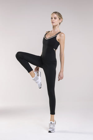 WR.UP® Jumpsuit - Active Stretch Fabric - Black
