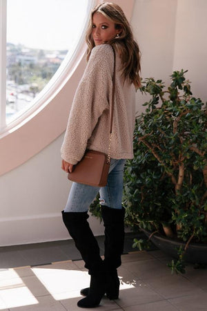 Sheepish Jacket - Short Faux Fur - Cream