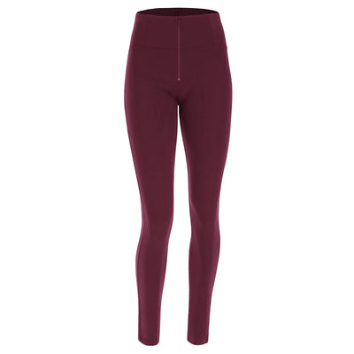 Freddy WR.UP® D.I.W.O.® PRO Fabric Tone on Tone High Rise Skinny - Bordeaux