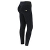 Freddy WR.UP® High Rise Dual Zip Nylon Pant - Black
