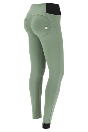 WR.UP® Nylon Pant - High Rise Dual Zipper - Olive