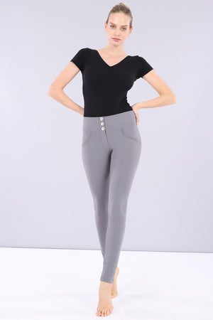 WR.UP® D.I.W.O.® Pro - Mid Rise Full Length 3 Button - Dark Grey
