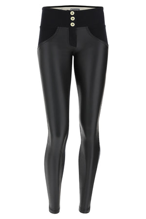 WR.UP® Fashion Pant - Mid Rise Side Stripe - Black