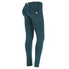 Freddy WR.UP® D.I.W.O.® Fabric Satin Finish Regular Rise Skinny - Green