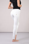 Freddy WR.UP® Regular Rise Eco Leather Skinny - White