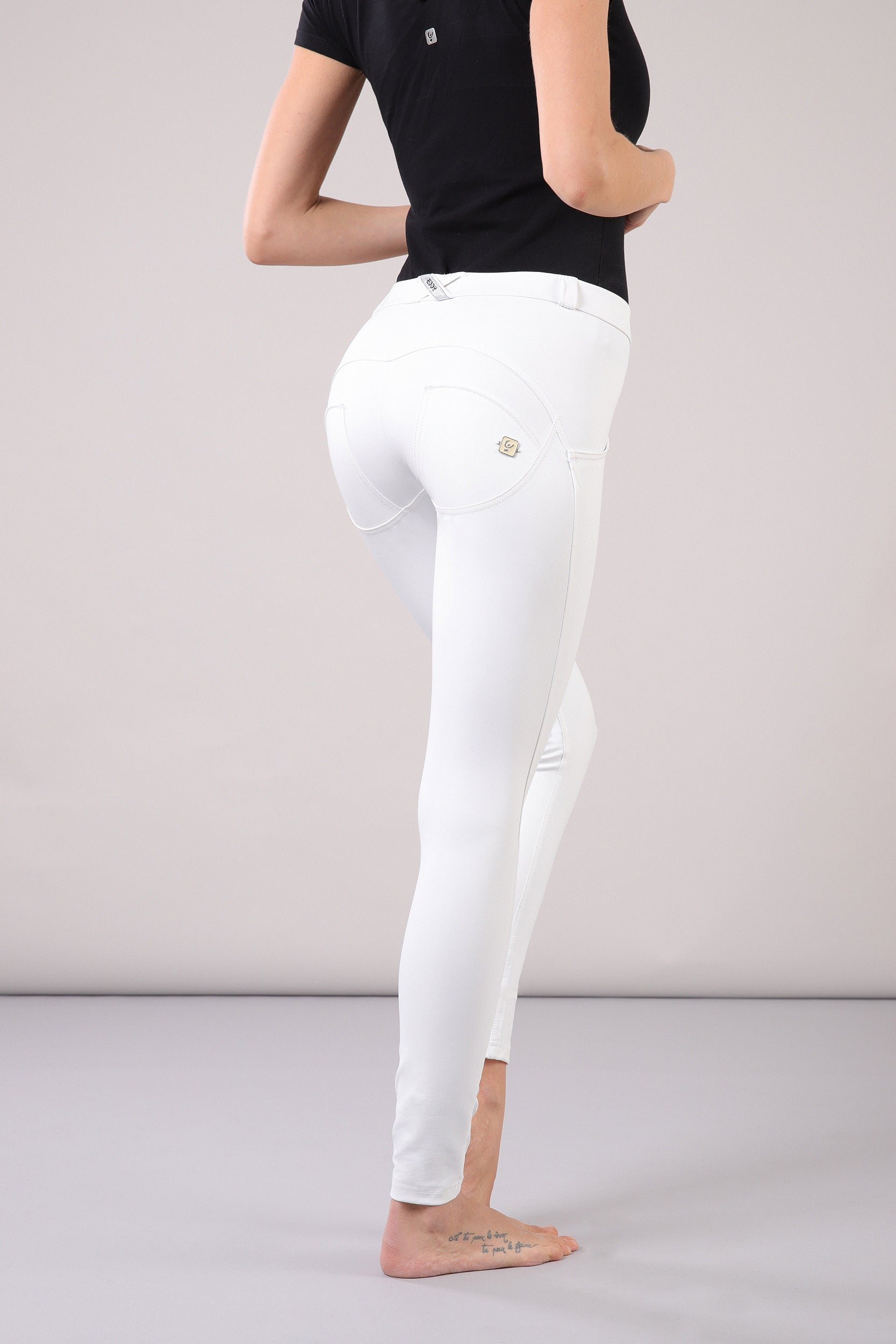 WR.UP® Eco Leather - Classic Rise Full Length - White