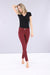 WR.UP® D.I.W.O.® Pro - Mid Rise Full Length - Bordeaux