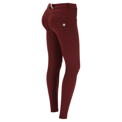 Freddy WR.UP® D.I.W.O.® 2 Tone Nylon Regular Rise Pants - Bordeaux