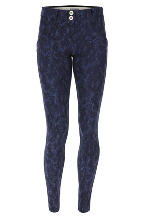 WR.UP® Fashion - Regular Rise Full Length - Blue Floral