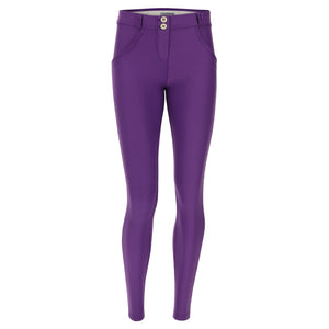 WR.UP® Fashion - Classic Rise Full Length Drill Weave - Purple